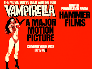 The Greatest Vampire Movie Never Made: Hammer Films Vampirella