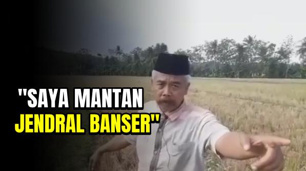 Ngaku Mantan Jenderal Banser, Pria Paruh Baya Tantang Gatot Nurmantyo