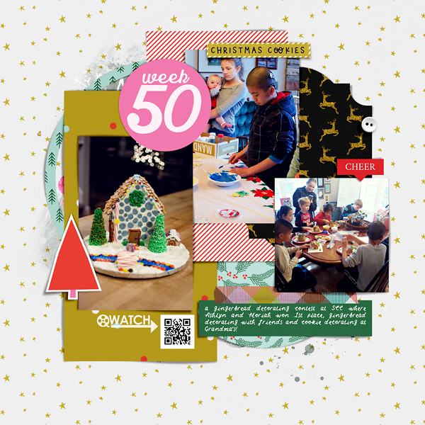 Scrapbook Page Week 50 {left}