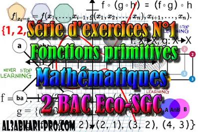 Mathématiques, 2 Bac Sciences Économiques, 2 Bac Sciences de Gestion Comptable, Suites numériques, Limites et continuité, Dérivation et étude des fonctions, Fonctions logarithmiques, Fonctions exponentielles, Fonctions primitives et calcul intégral, Dénombrement et probabilités, Examens Nationaux Mathématiques, 2 bac, Examen National, baccalauréat, bac maroc, BAC, 2 éme Bac, Exercices, Cours, devoirs, examen nationaux, exercice, 2ème Baccalauréat, prof de soutien scolaire a domicile, cours gratuit, cours gratuit en ligne, cours particuliers, cours à domicile, soutien scolaire à domicile, les cours particuliers, cours de soutien, les cours de soutien, cours online, cour online.