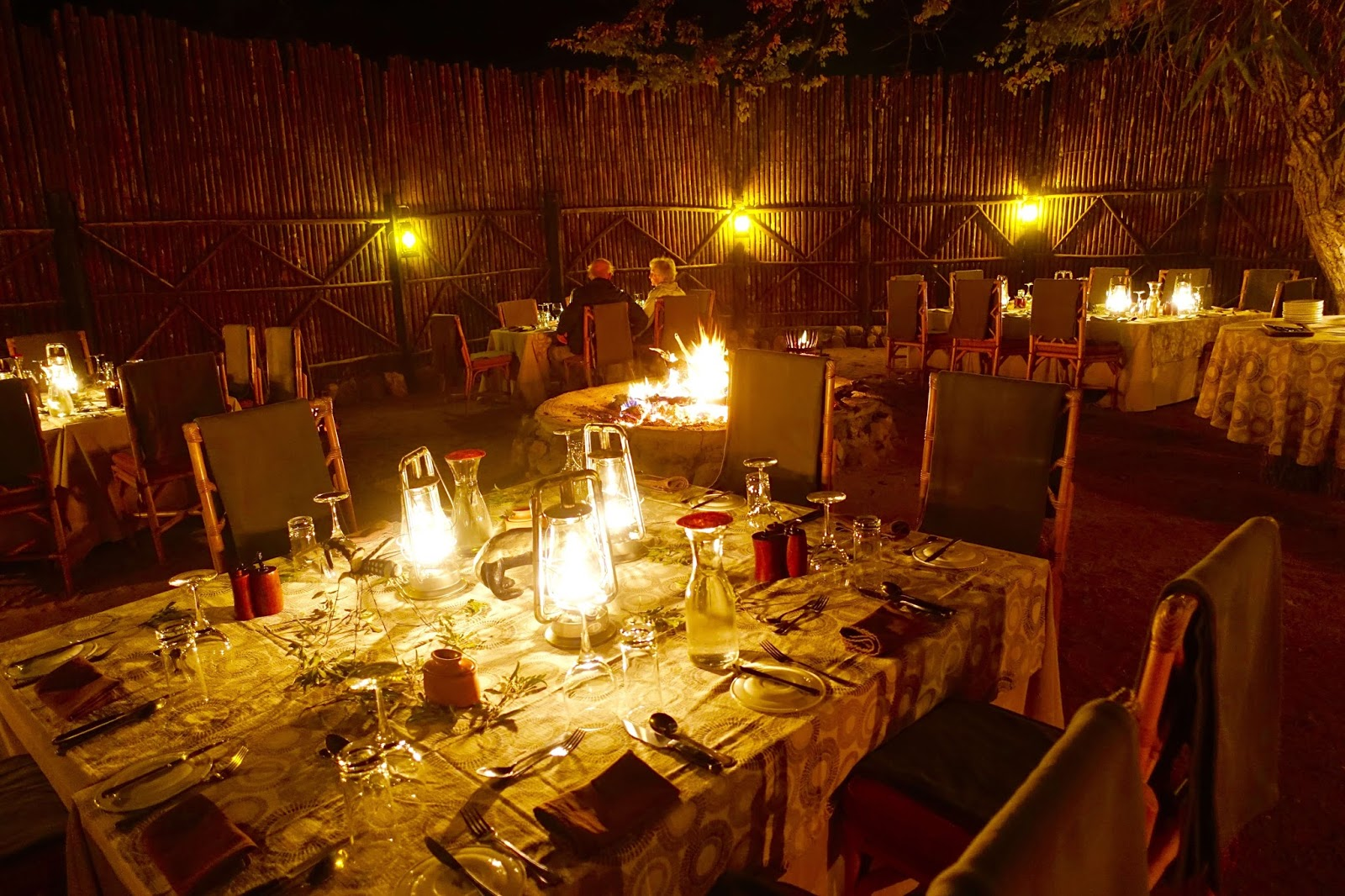 boma dinners in south africa