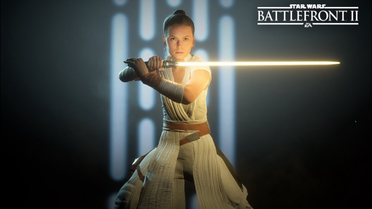 Rey in Star Wars Battlefront 2: best cards and tips