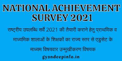 National Achievement Survey 2021