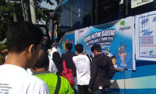 Pegadaian Siapkan 3 Bus Damri, Untuk Mudik Gratis Ke Selayar