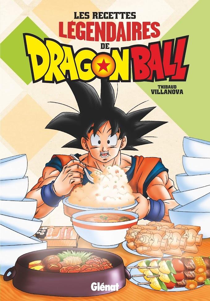 Llega el libro de recetas de Dragon Ball