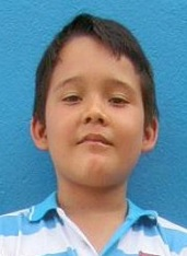 Jonatan Caleb - Colombia (CO-384), Age 11