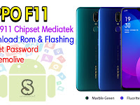 Download Rom Official / Flashing Oppo F11 Cph1911 Mediatek Lupa Password, Pola, Demo live
