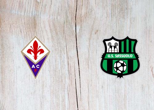 Fiorentina vs Sassuolo -Highlights 01 July 2020