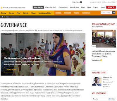 The Governance of Forests Initiative website