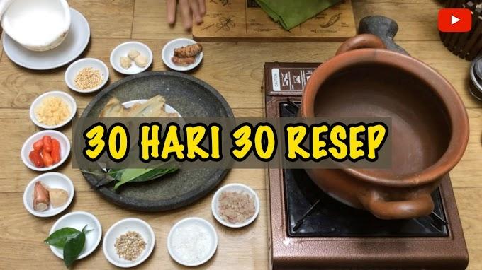 """""""30 Hari 30 Resep"""""""