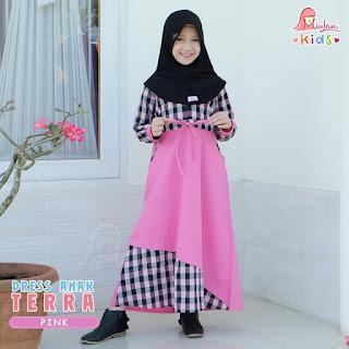 Dress Anak Terra Miulan Pink