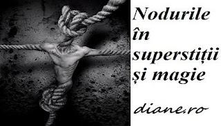 Nodul în superstiții și magie