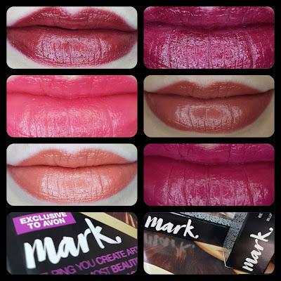 Avon mark. 3D Plumping Lipsticks
