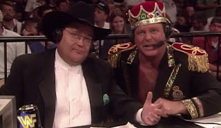 WWE/ WWF - In Your House 15: Jim Ross and Jerry 'The King' Lawler