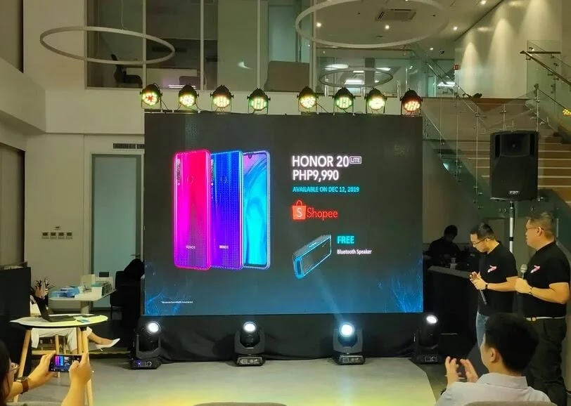 Honor 20 Lite Now In Stores Nationwide For Php9,990