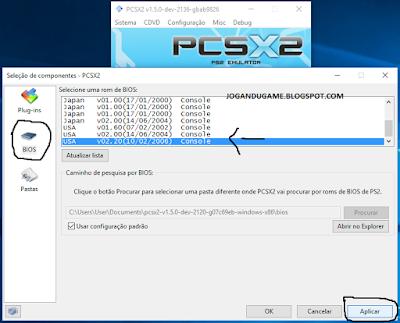 3 Configurando emulador de playstation 2, Pcsx2, emulador de ps2