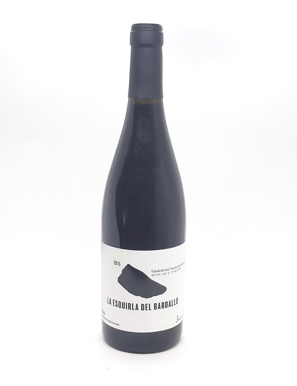 La Esquirla del Bardallo 2015. D.O.C. Rioja. Sibaritastur
