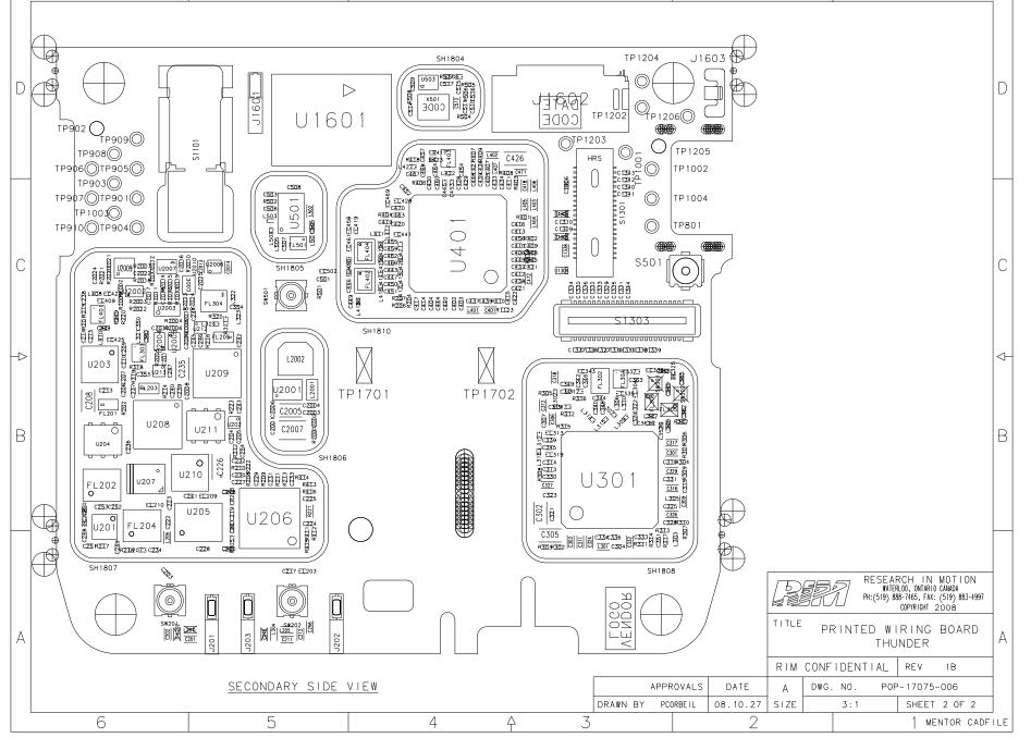 BlackBerry Storm 9500 schematics