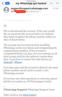 Mengatasi Hack Whatsapp