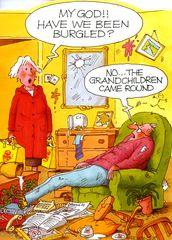 Have we been burgled..