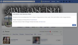 Anda Diblokir Untuk Sementara Waktu Facebook Menggunakan Fitur Hapus Pertemanan