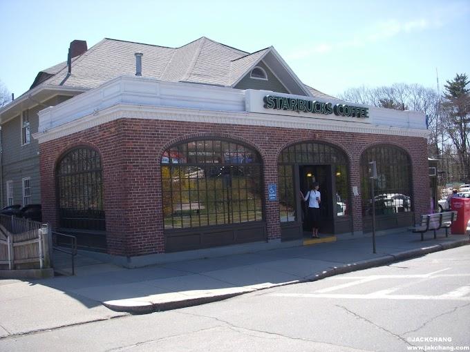 【美國留遊學】波士頓第一天就到Waban的Starbucks朝聖?