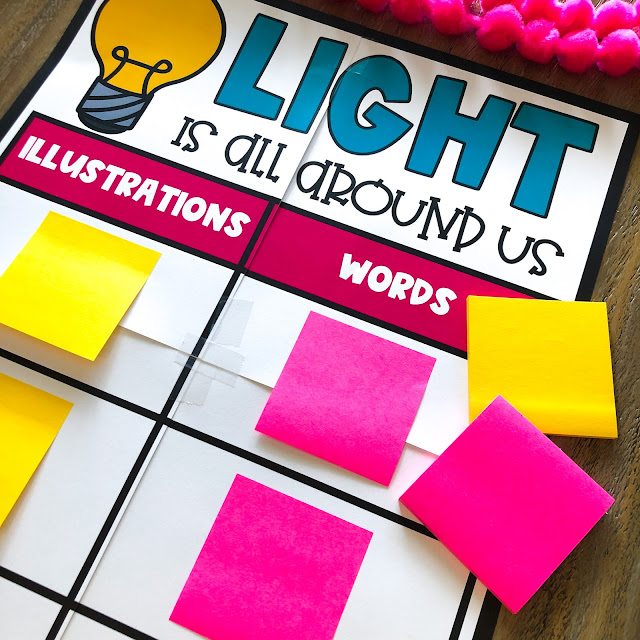 May read alouds for second grade that integrate light waves, sound waves, and STEM for second grade.  Teach literacy skills illustrations and words, point of view, character response, problem and solution, ask and answer questions, and more!  Read aloud activities, anchor charts, and crafts for the end of the year!