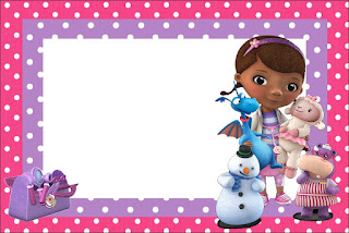 Doc McStuffins Free Printable Invitations Labels Or Cards