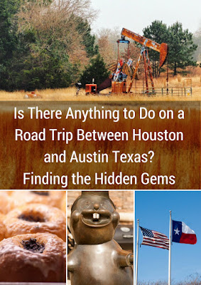 A Road Trip Between Houston and Austin Texas featuring Buc-ee's, kolaches, pumpjacks, and the Lone Star flag