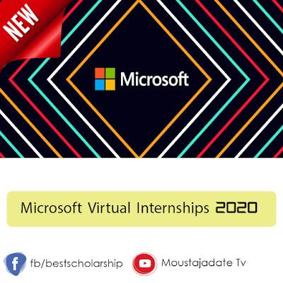 Microsoft Virtual Internships 2020