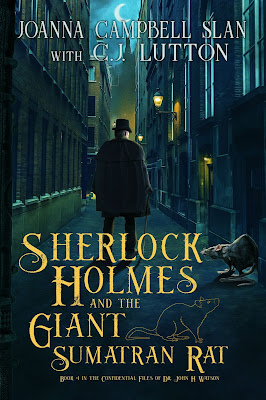 Cover of Sherlock Holmes and the Giant Sumatran Rat by Joanna Campbell Slan