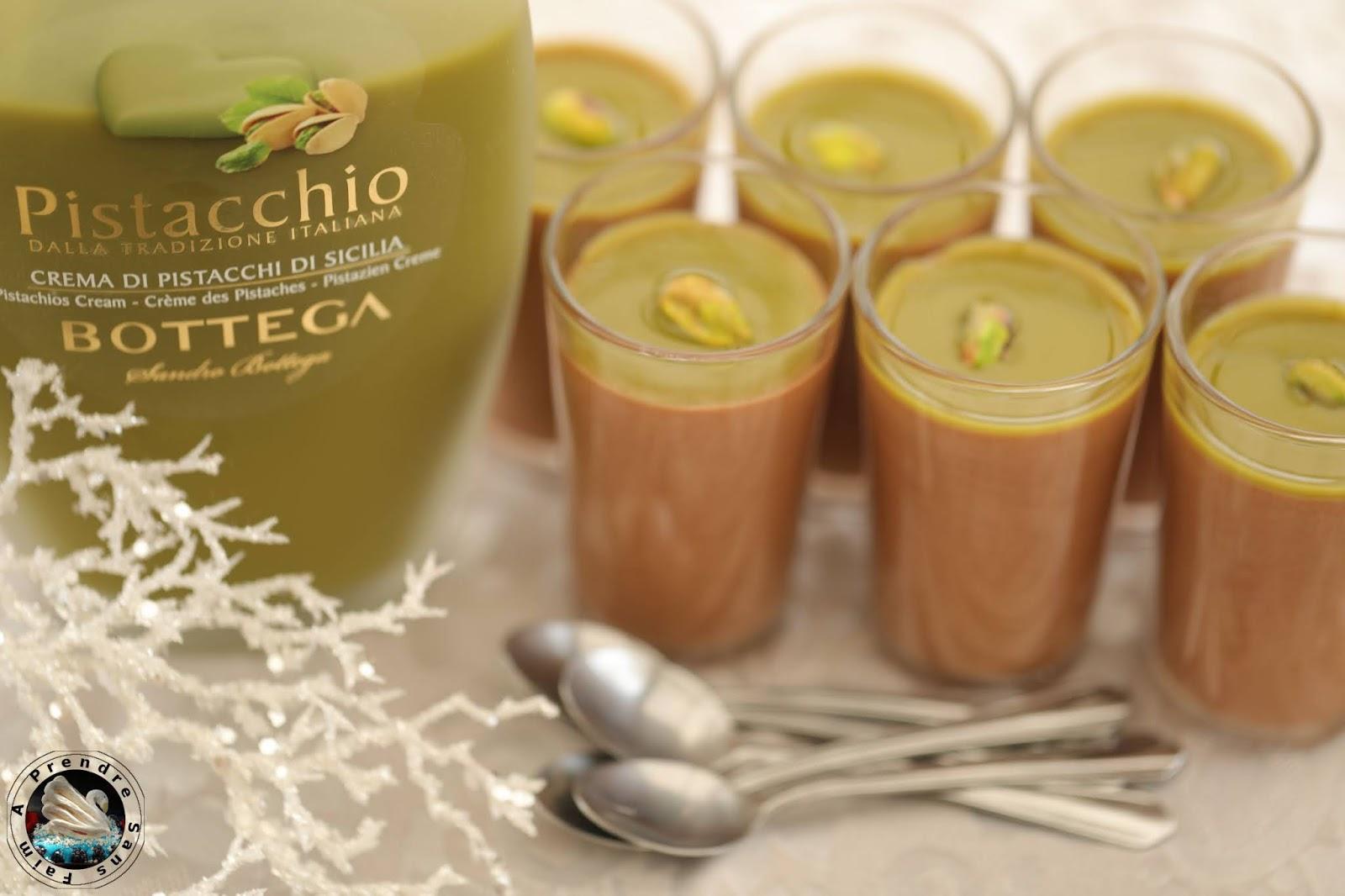 Mousse chocolat pistaches