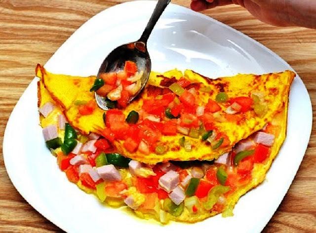 Resep dan cara Memasak Omelet Specials