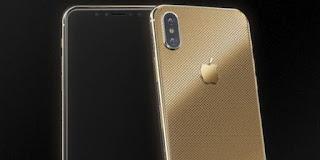 iPhone X Berlapis Emas Dijual Rp 66 Juta