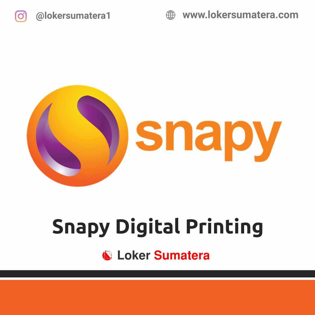 Lowongan Kerja Pekanbaru: Snapy Digital Printing April 2021