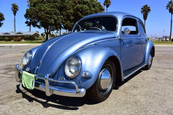 1957 Vw Beetle Oval Fully Restored