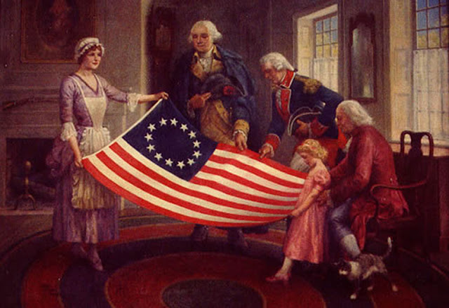 Who is Betsy Ross, and did she sew the first American flag?
