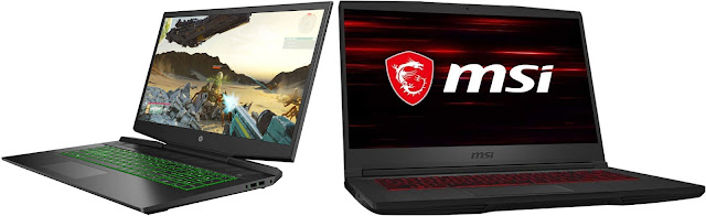 HP Pavilion Gaming 16-a0025ns vs MSI GF65 Thin 9SEXR-687XES