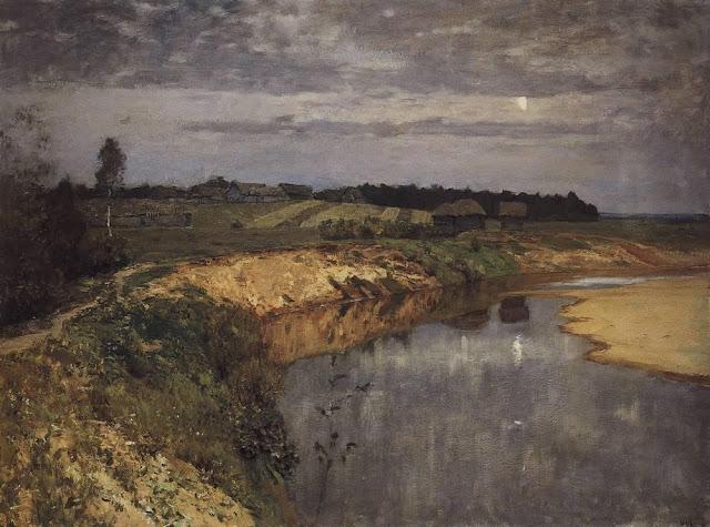 Исаак Ильич Левитан - Тишина. 1898