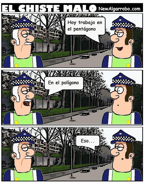 chiste de polis