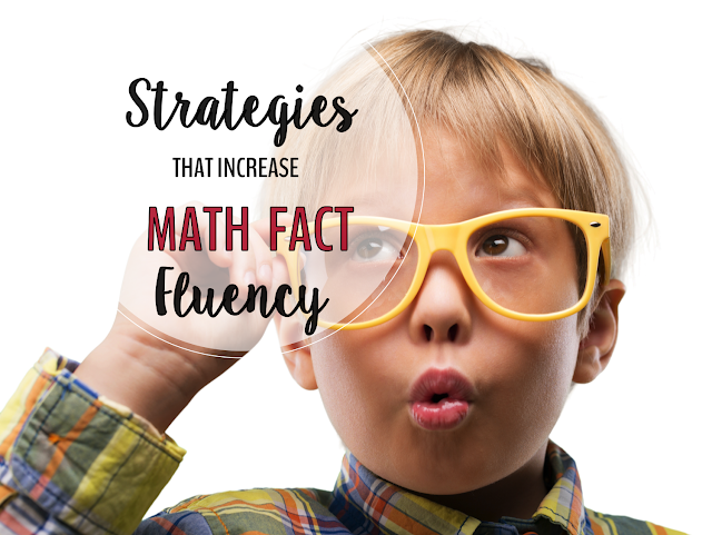 Math fact fluency is developed through lots of practice with effective tools and strategies.  I have found, and research confirms that Derived Fact Strategies (DFS) are highly effective in increasing math fact fluency.