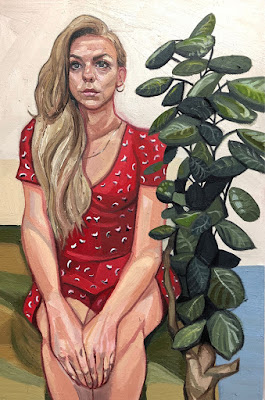 Girl in Red Dress, Ania Hobson