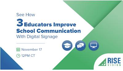10 Effective Ways Educators and Schools Improve Communication Through Digital Signage
