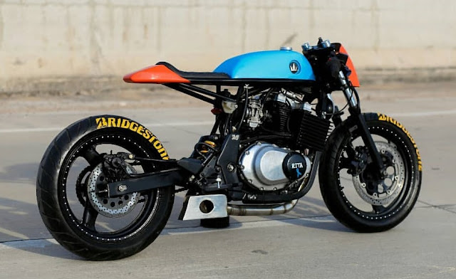 Suzuki 500GS By Lucky Custom Hell Kustom