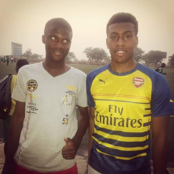 Terrem Moffi and Alex IWOBI