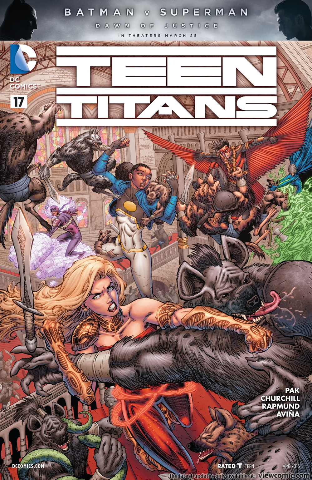 Teen Titans V5 017 2016   Read All Comics -4291