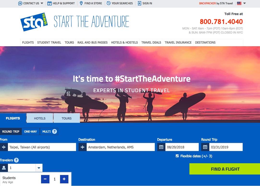 行前 #07:便宜學生機票:STA travel + promo code使用方式