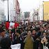 Trujillanos se movilizan en apoyo a disolución del Congreso