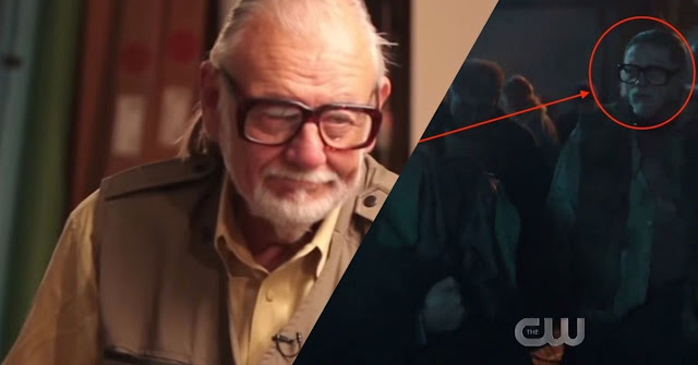 DC's Legends of Tomorrow tributo a George A. Romero
