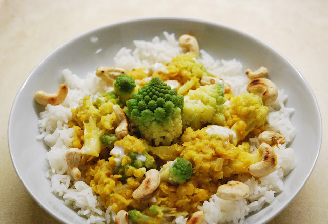 Curry de chou romanesco
